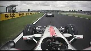 2007 French GP- Alonso vs Heidfeld pt.1