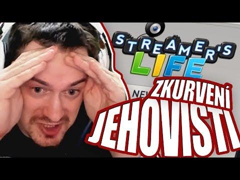 PŘIJALA VÍRU A BYLA OKRADENA! - Streamers life #4