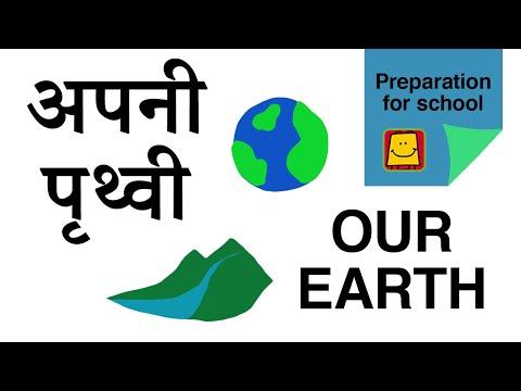 Know our Earth /अपनी पृथ्वी को जाने