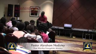 Pastor Abraham with Presby National Youth in Atlanta, GA (Part 1)