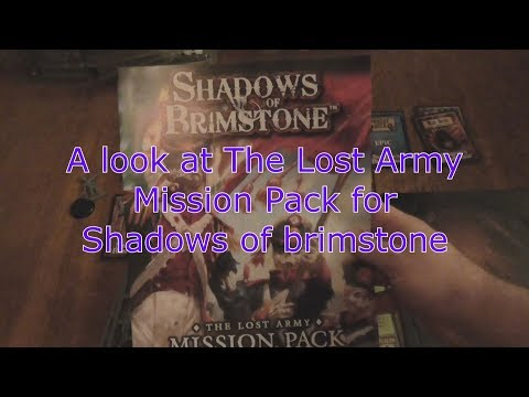 A look at the Lost Army Mission Pack for shadows of brimstone
