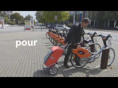 Le SHOPPER® Liberty donne du coffre aux velib'...bicloo, vélo'v, et les autres...