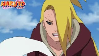 Kankuro's Team Vs Reanimated Deidara, Sasori And Shin (Sub English)