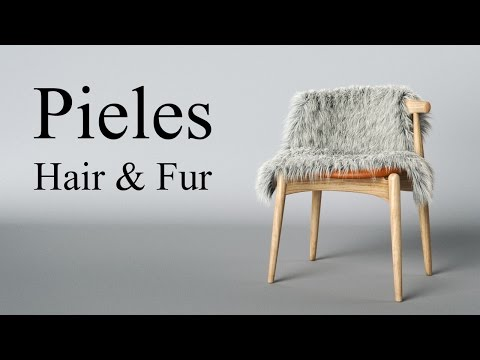 Hair & Fur tutorial de pieles Vray