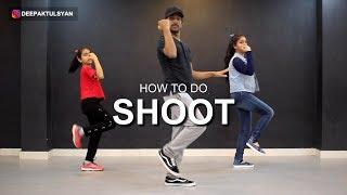 "How to do BlocBoy JB ""SHOOT"" Dance (FORTNITE HYPE DANCE) | Deepak Tulsyan Dance Tutorial"