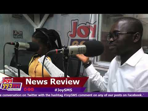 #JoySMS Newspaper Review on Joy FM (19-9-18)