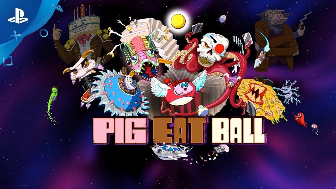 Pig Eat Ball Coming Soon to PS4