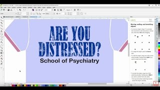 Creating A Distressed Look In CorelDRAW