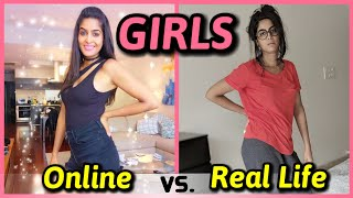 Girls : Online VS. Real Life | Like App | Rickshawali