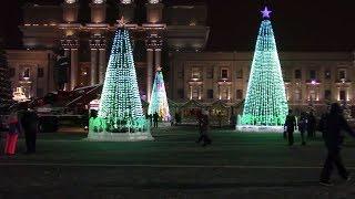 Самара. Площадь Куйбышева. В ожидании Нового года