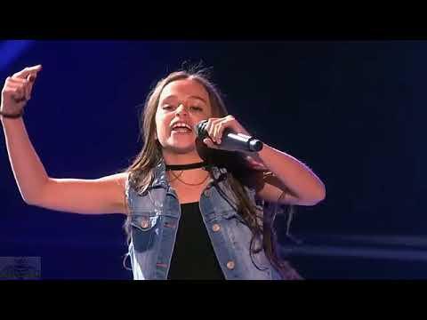White girl raps gucci gang on Americas got Talent