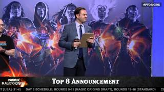 Pro Tour Magic Origins Top 8 Announcement