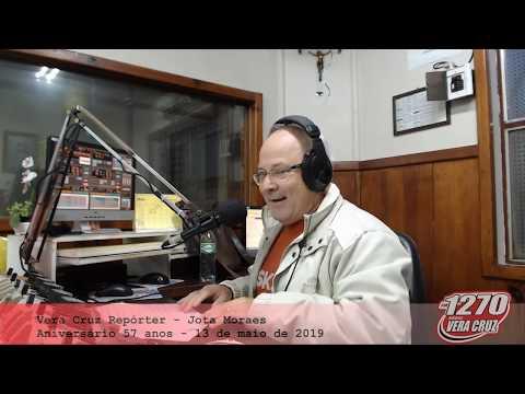 VERA CRUZ REPÓRTER - ANIVERSÁRIO 57 ANOS RÁDIO VERA CRUZ