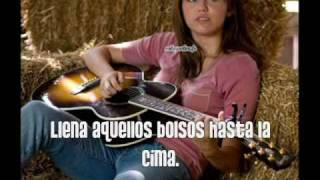 The Good Life - Hannah Montana/Miley Cyrus (En Español) + lyrics
