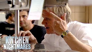 Delusional Chef Says Gordon Ramsay Is Beneath Him | Kitchen Nightmares