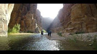 preview picture of video 'Hiking Wadi al Mujib, Jordan | وادي الموجب'