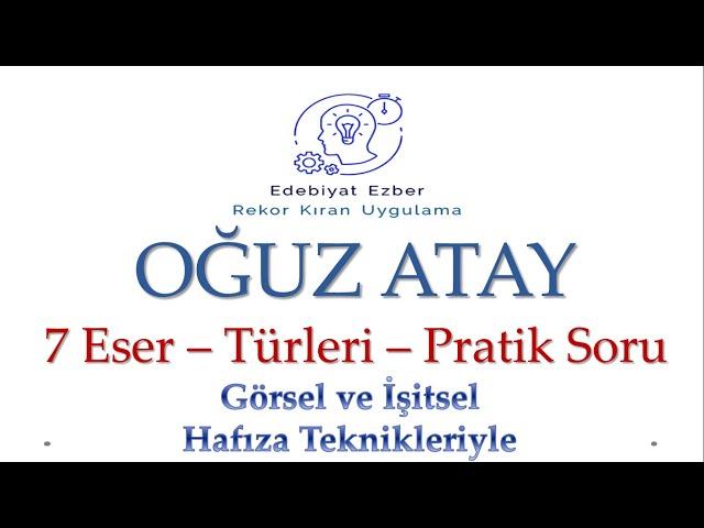 Türk'de Oğuz Atay Video Telaffuz