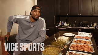 Eating Congolese Food with Serge Ibaka of the Toronto Raptors