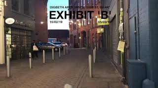 Digbeth Art Space, Gibb St, B9 4AT:          EXHIBIT 'B': 15.02.19 - 05.03.19
