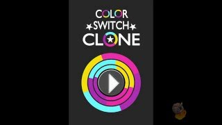 Color Switch Clone Unity Game Template  (Half Burnt Biscuits)