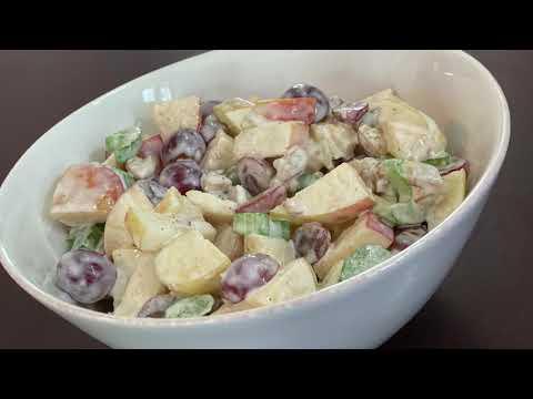 The BEST Waldorf Salad Recipe
