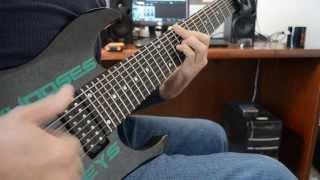 8 String Clean Guitar Piece - Dean Murphy - The Frozen Waterfall
