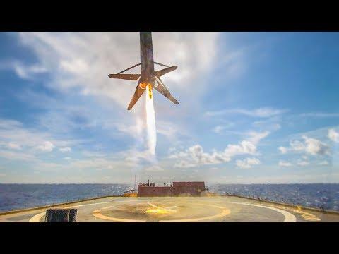 Proč při přistávání raket SpaceX vypadává živý přenos?