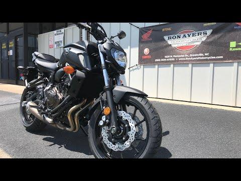 2020 Yamaha MT-07 in Greenville, North Carolina - Video 1