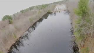 FPV fly though of Hidden Pond and Wildlife Beauty