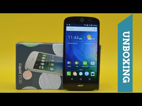 Acer Liquid Z530 Smartphone Unboxing, Hands-on & First Impressions