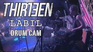 Bounty Ramdhan   Thirteen   Labil   Drum Cam (LIVE)
