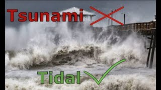 Tsunami vs Tidal Wave |  What is the difference?