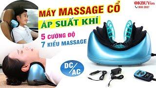 Video review máy massage cổ áp suất khí và nhiệt nóng RED FLOWER RF-003