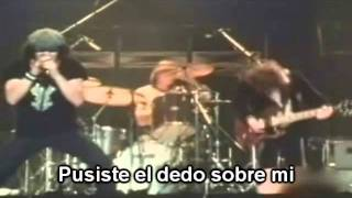 AC-DC_ I put the finger on you (subtitulado al español)