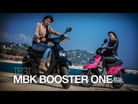 TEST | MBK Booster One ou Spirit, Noir ou Rose ?