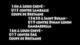 preview picture of video '1er tour des coupes - Annonce - Loudéac Osc'
