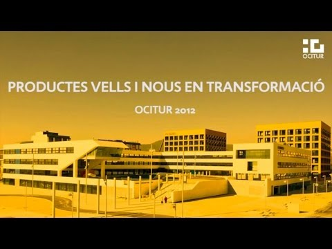Ocitur 2012  – Taula Comunicació: Productes vells i nous en transformació (Primera part)
