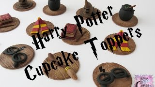 Harry Potter Cupcake Toppers - How To