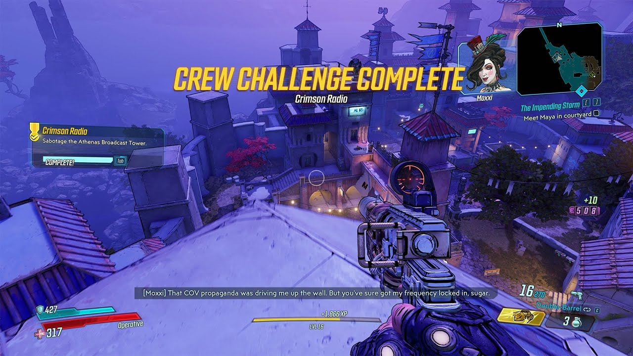 Video Crimson Radio Crew Challenge - Broadcast Tower