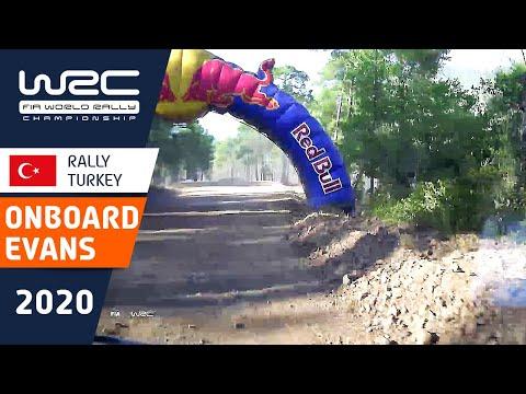 エバンスがラリー・ターキーを激走するオンボード映像。動画で楽しむWRC ラリー・ターキー