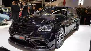 Brabus 700 S63 W222 S-classe. Beautiful. I mixed it up with the E63S!
