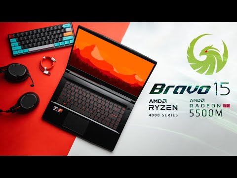 External Review Video hHEE7kxhQbs for MSI Bravo 15 Gaming Laptop (AMD Ryzen 4000)