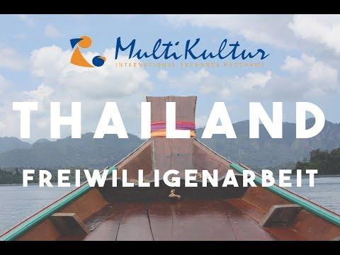 Freiwilligenarbeit in Thailand mit MultiKultur