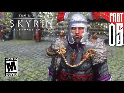 【SKYRIM 200+ MODS】 Imperial Gameplay Walkthrough Part 5 [PC - HD]