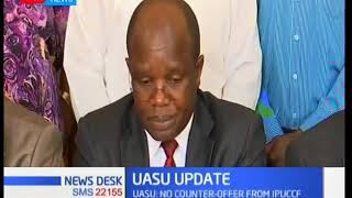 UASU accuses Government of a ploy to cripple learning in public universities