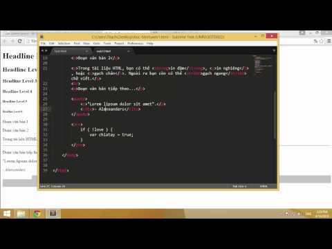 Học HTML cơ bản cùng Thạch Phạm (P5)