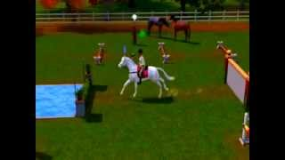 The Sims 3 Pets Horse Jumping