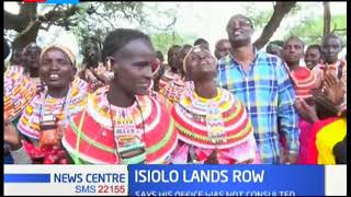 Isiolo governor voices local outcry to CS Karoney over gazettement of land adjudication