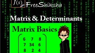 Matrices and Determinant IIT JEE MAINS ADVANCED MATHS - IIT