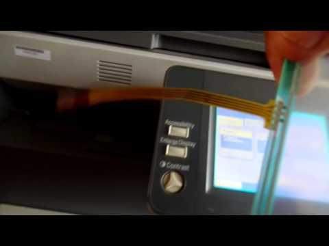 Falla en pantalla de fotocopiadora Konica Minolta bizhub 350/250/200 /362/282/222